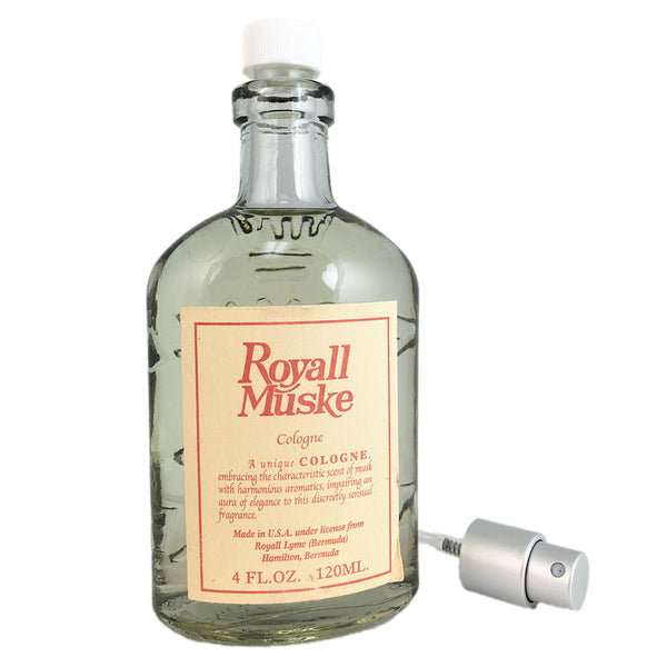 Royall Muske by Royall Fragrances 4 oz All Purpose Lotion Tester