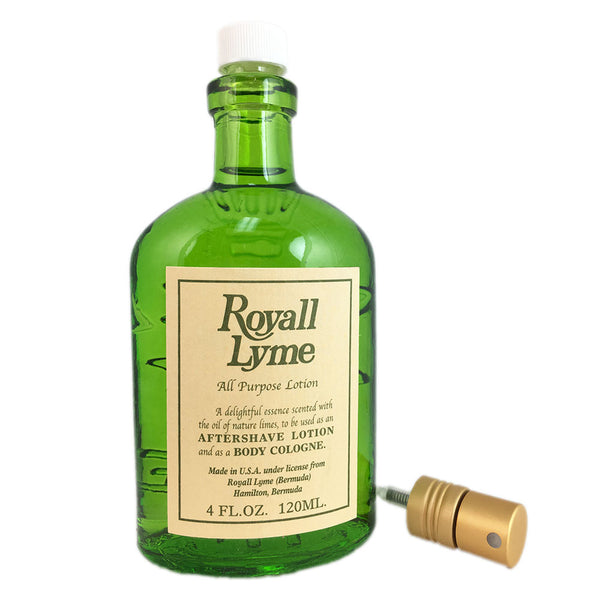 Royall Lyme by Royall Fragrances 4 oz All Purpose Lotion Tester