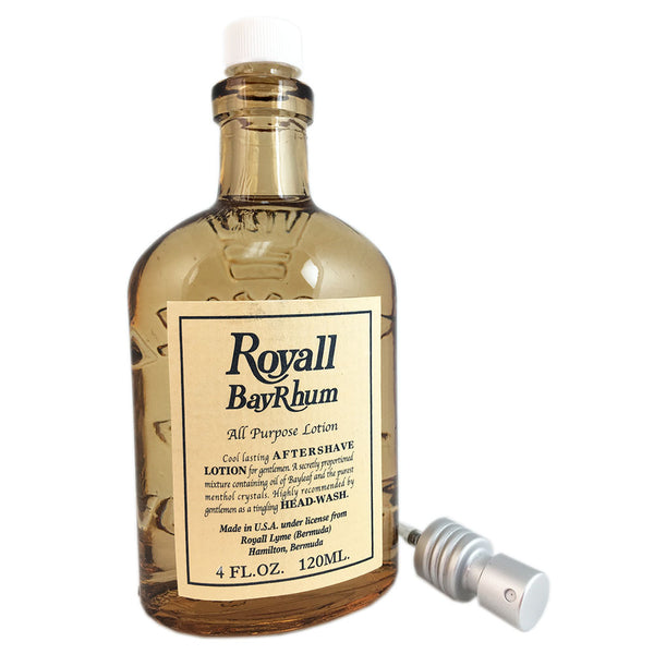 Royall Bay Rhum by Royall Fragrances 4 oz All Purpose Lotion Tester