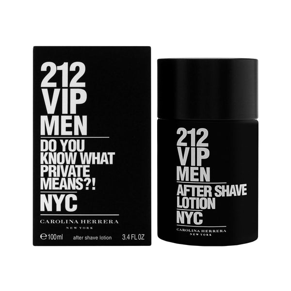 212 VIP Men by Carolina Herrera 3.4 oz After Shave Pour