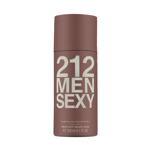 212 Sexy Men by Carolina Herrera 5.0 oz Deodorant Spray