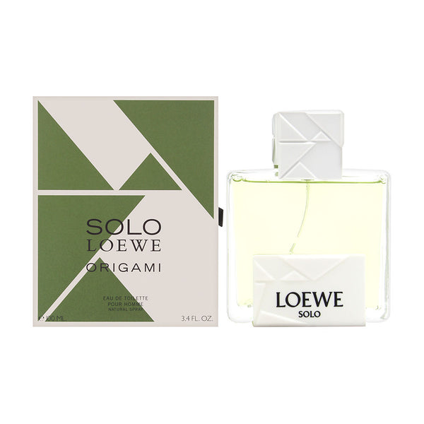 Solo Loewe Origami by Loewe for Men 3.4 oz Eau de Toilette Spray