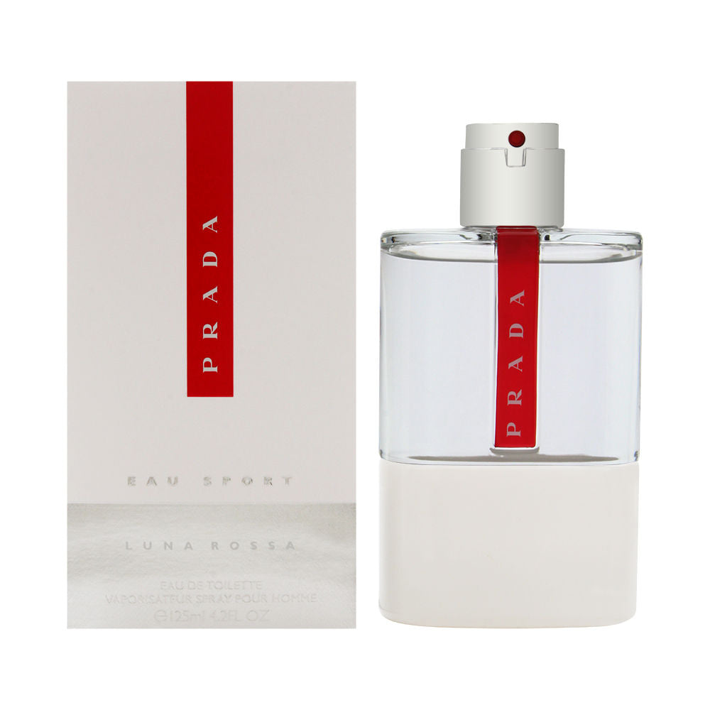 Prada Luna Rossa Eau Sport for Men 4.2 oz Eau de Toilette Spray
