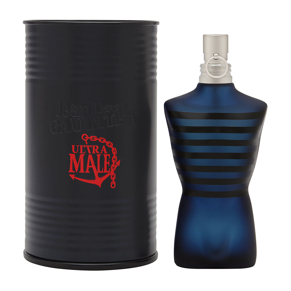 Ultra Male by Jean Paul Gaultier for Men 2.5 oz Eau de Toilette Intense Spray