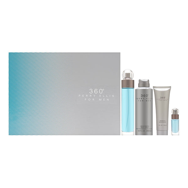 359 Degrees by Perry Ellis for Men 4 Piece Set