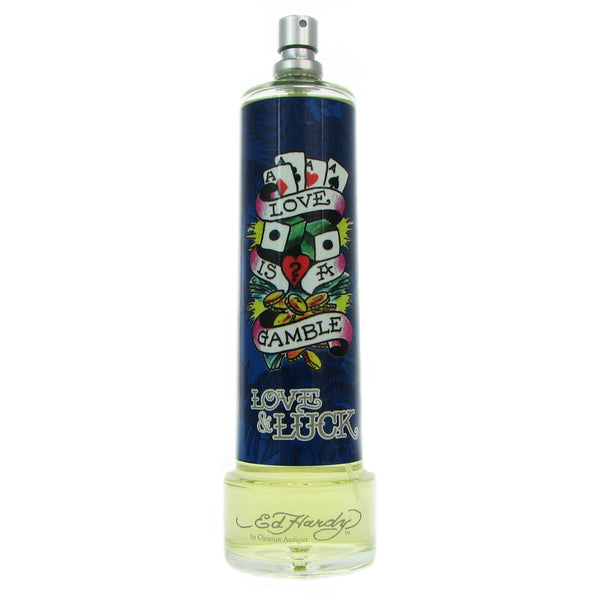 Ed Hardy Love & Luck for Men 3.4 oz Eau de Toilette Spray Tester