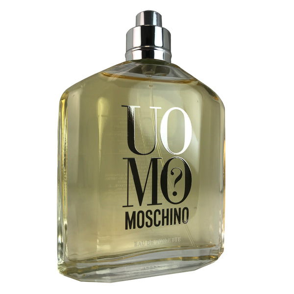 Moschino Uomo For Men by Moschino 4.2 oz Eau De Toilette Spray Tester