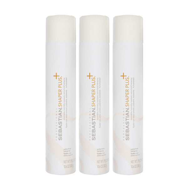 Sebastian Shaper Plus Hair Spray (3 Pack) 3 x 10.6 oz