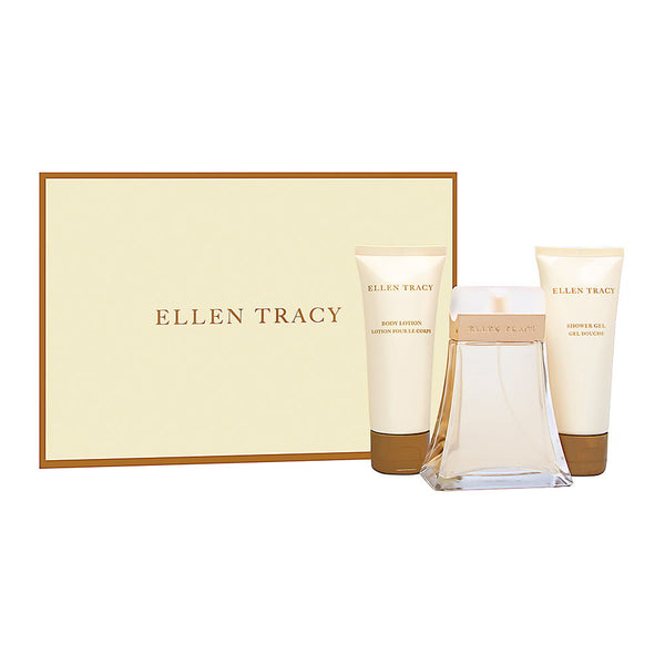 Ellen Tracy (Classic) by Ellen Tracy for Women 3 Piece Set Includes: 3.4 oz Eau de Parfum Spray + 3.4 oz Body Lotion + 3.4 oz Shower Gel