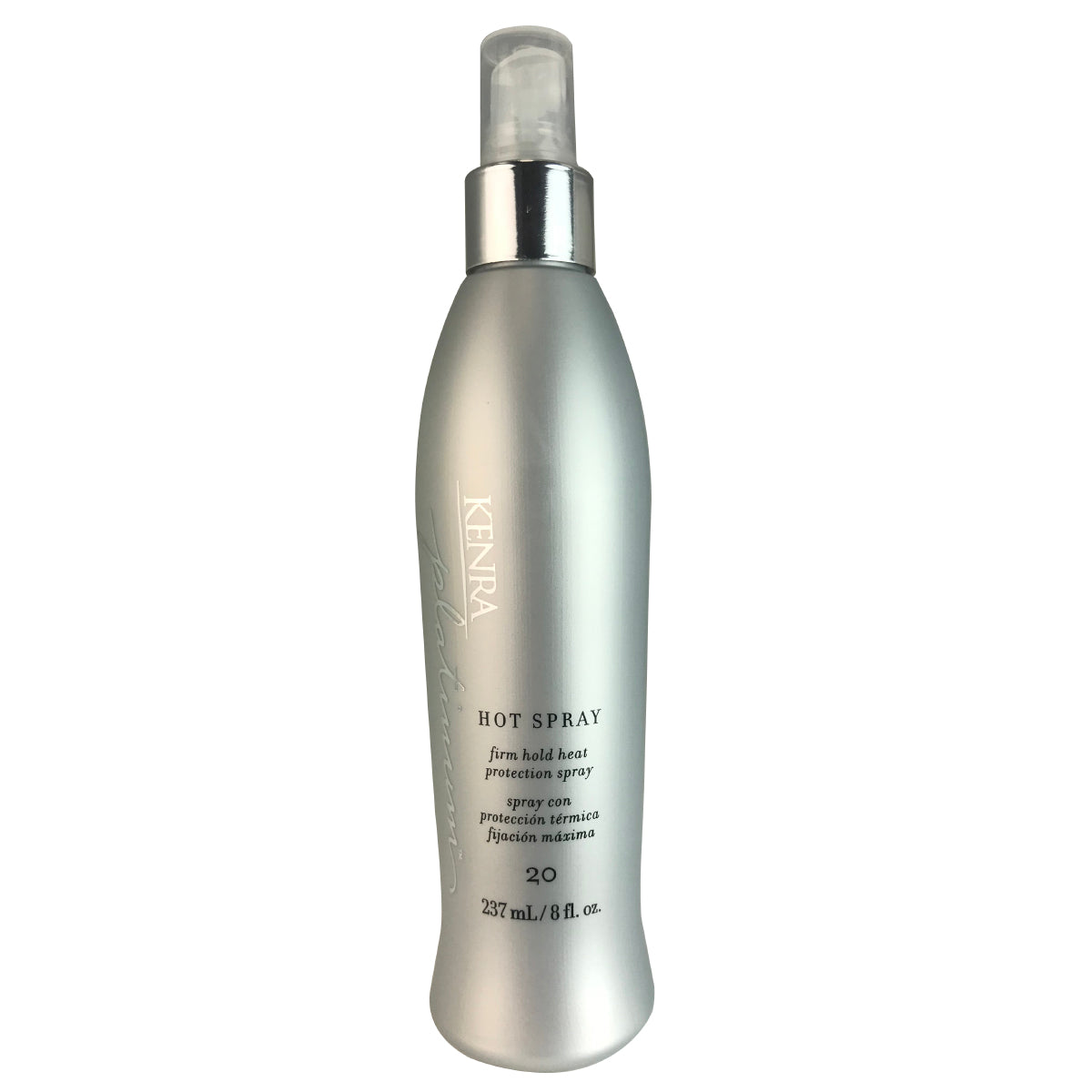 Kenra Platinum Hot Hair Spray Firm Hold and Heat Protecting  #20  8 oz
