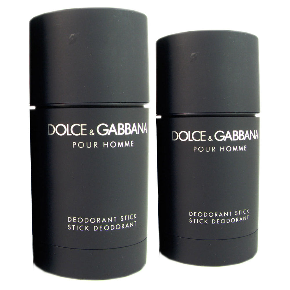 Dolce & Gabbana for Men 2.4 oz Deodorant Stick (Two)