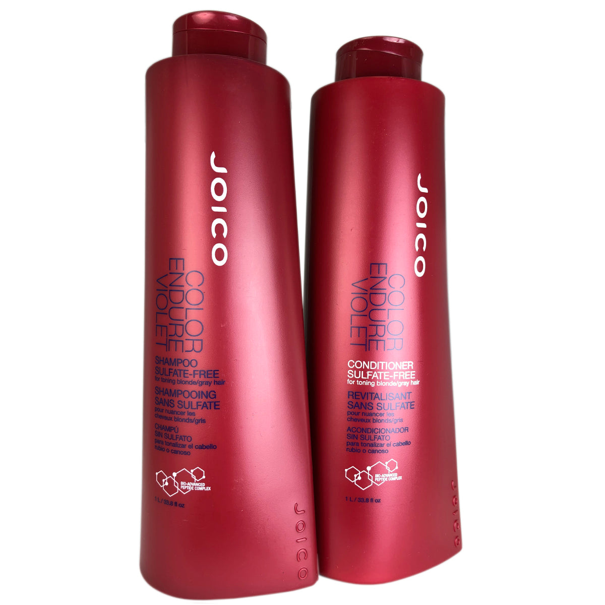 Joico Color Endure Violet Shampoo & Conditioner Liter Blonde Hair Keeper 33.8oz