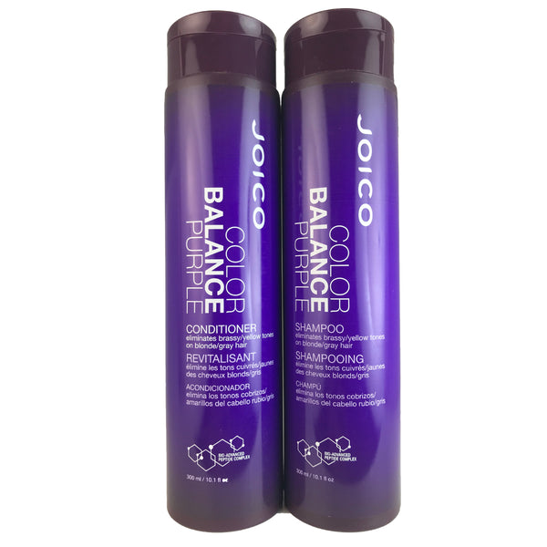 Joico Color Balance Purple Hair Shampoo and Conditioner Duo 10.1 oz Each