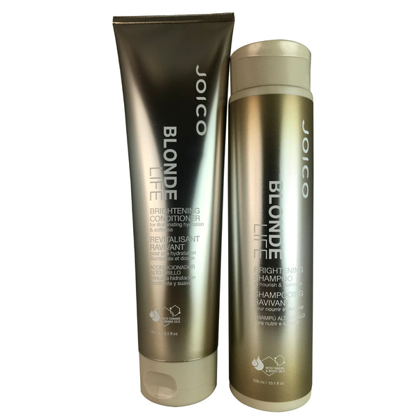 Joico Blonde Life Brightening Hair Shampoo and Conditioner Duo 10.1 oz/8.5 oz
