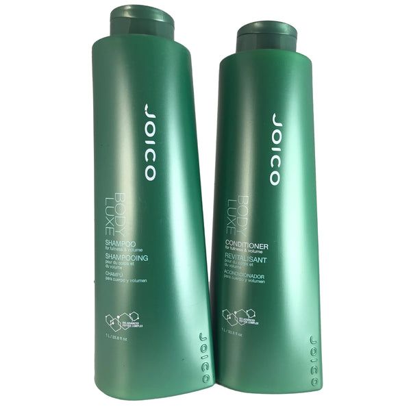 Joico Body Luxe Hair Shampoo and Conditoner Duo 33.8 oz Each For Fullness and Volume