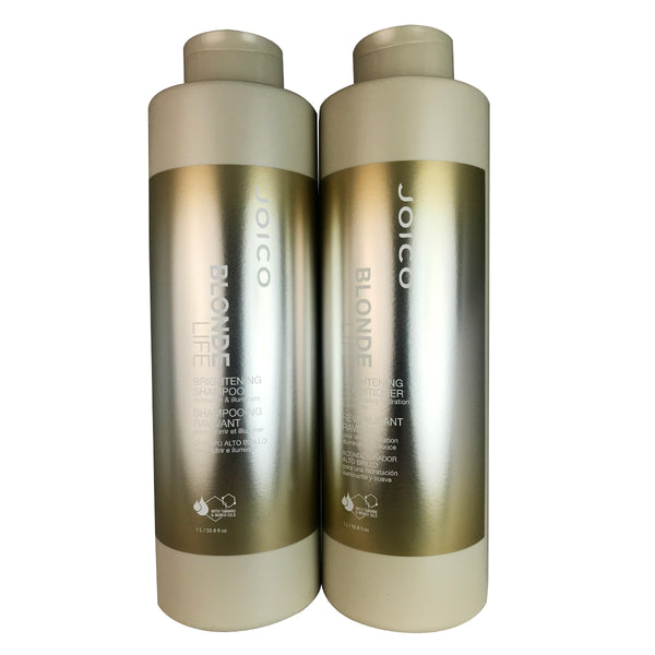 Joico Blonde Life Brightening Hair Shampoo and Conditioner Duo 33.8 oz Each