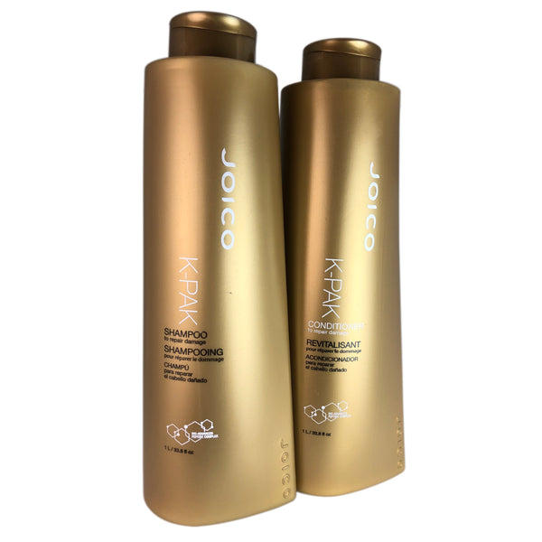 Joico K-PAK Damage Repair Shampoo & Conditioner Duo 33.8oz Each