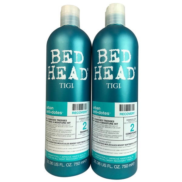 Tigi Bed Head Urban Antidotes Recovery Shampoo & Conditioner Duo 25.36 oz Each