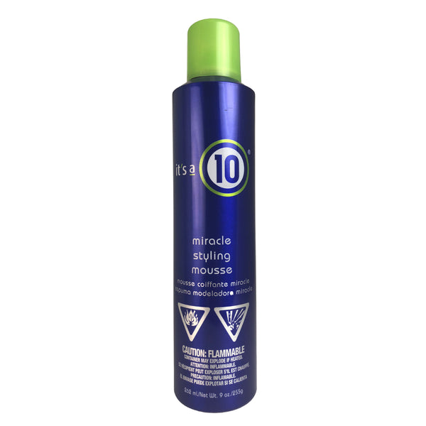 It's a 10 Miracle Styling Hair Mousse 9 oz.