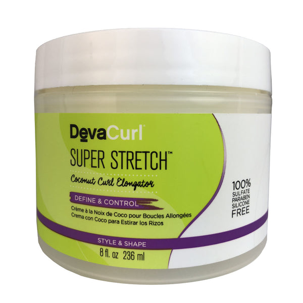 DevaCurl Super Stretch Coconut Curl Elongator for Hair 8 oz