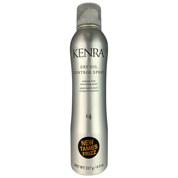 Kenra #14 Dry Oil Control Hair Spray Nourishing Medium Hold Tames Frizz 8 oz
