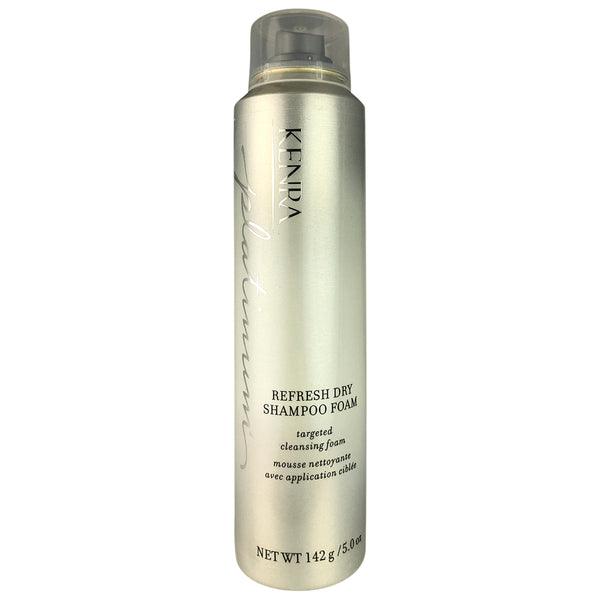 Kenra Platinum Refresh Dry Hair Shampoo Foam For Targeted Cleansing 5 oz