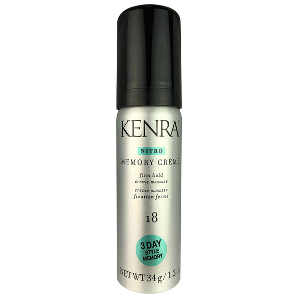 Kenra Nitro Memory Creme Firm Hair Hold #18 1.2 oz 3 Day Style Memory
