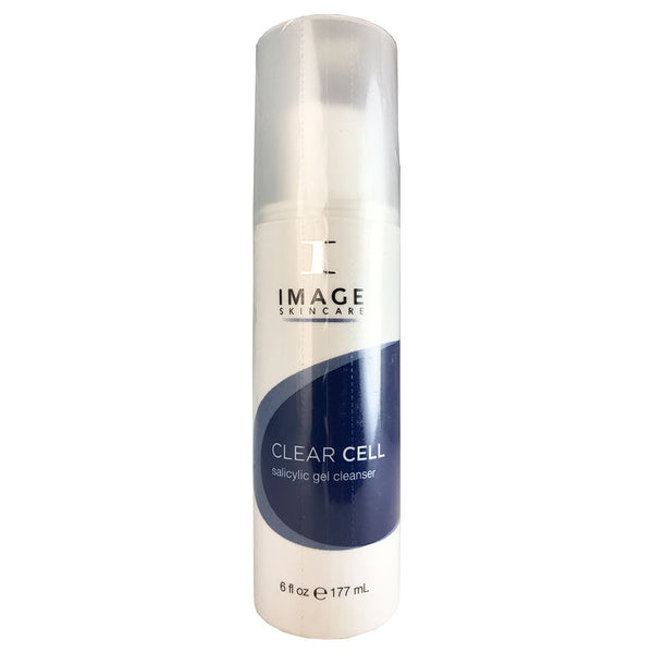 Image Clear Cell Salicylic Gel Cleanser for face for  Men 6 oz
