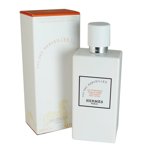 Eau Des Merveilles for Women by Hermes 6.5 oz Hydrating Body Lotion
