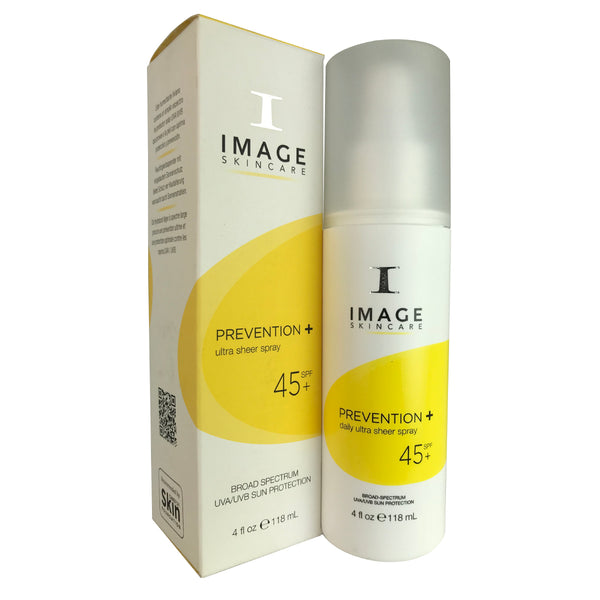Image Skincare Prevention Ultra Sheer Spray SPF 45 4 oz For Skin