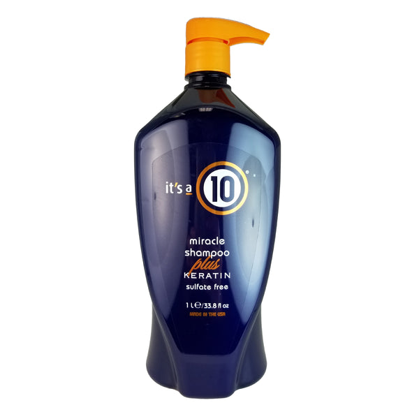 It's A 10 Miracle Moisture Shampo with Keratin 33.8 oz for Hair