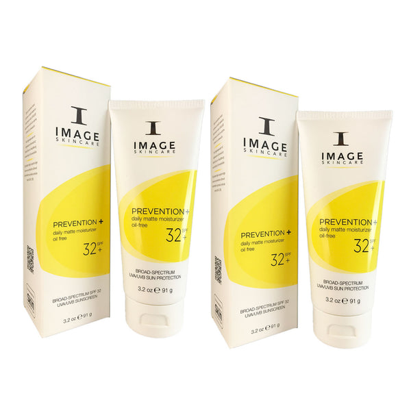 Image Prevention + Daily Matte Face Moisturizer SPF 32 3.2 oz Duo Pack