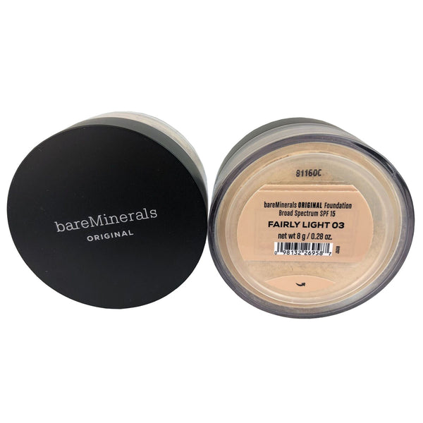 BareMinerals Original Foundation SPF 15 Fairly Light 0.28 oz for Face