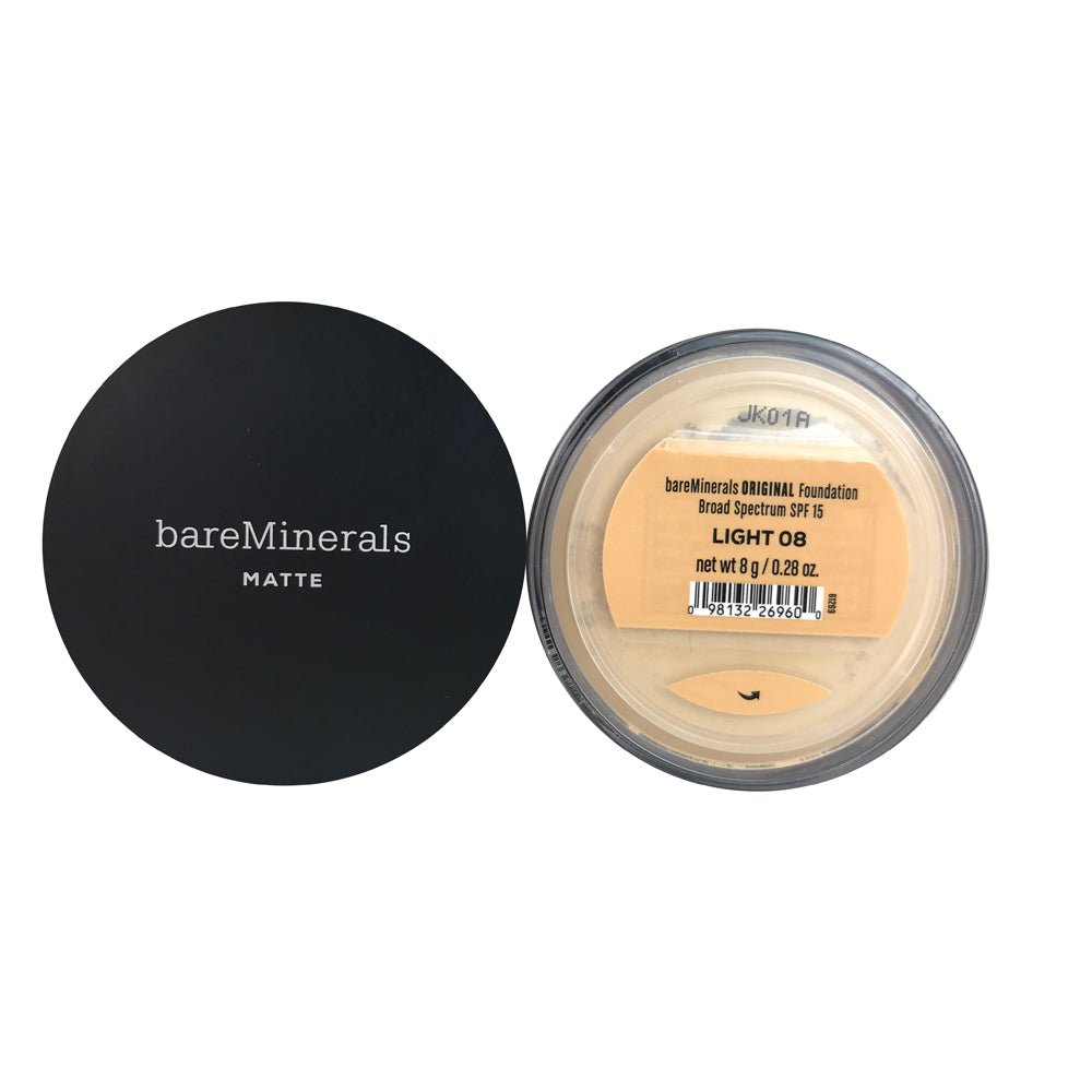 BareMinerals Matte Original Foundation SPF 15 Light 0.28 oz For Face