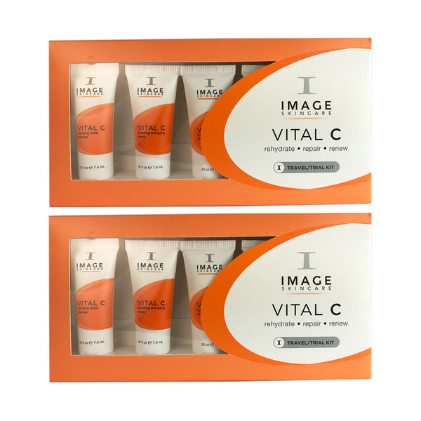 Image Vital C Travel trial Kit Cleanse Vital C+Masque+Repair Crème Duo Pack