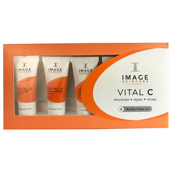 Image Vital C Travel trial Kit Cleanse Vital C+Masque+Repair Cr�me