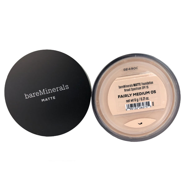 BareMinerals Matte Foundation SPF 15 Fairly Medium 0.21 oz