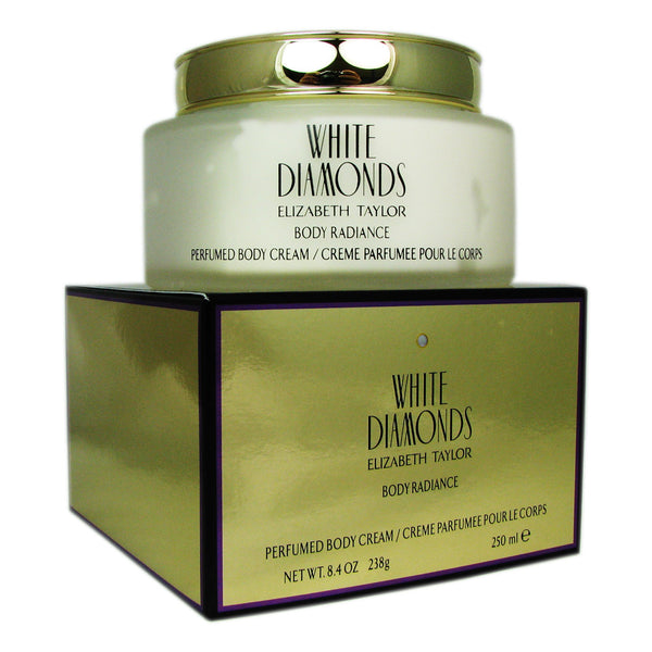 White Diamonds by Elizabeth Taylor 8.4 oz Body Cream