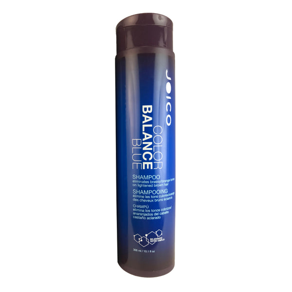 Joico Color Balance Blue Shampoo Eliminates Brassy/Orange Tones on Lightened Brown Hair 10.1 oz