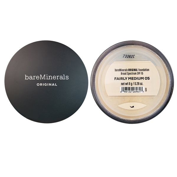 BareMinerals Face Original Foundation SPF 15 Fairly Medium # 03  8g / 0.28 oz