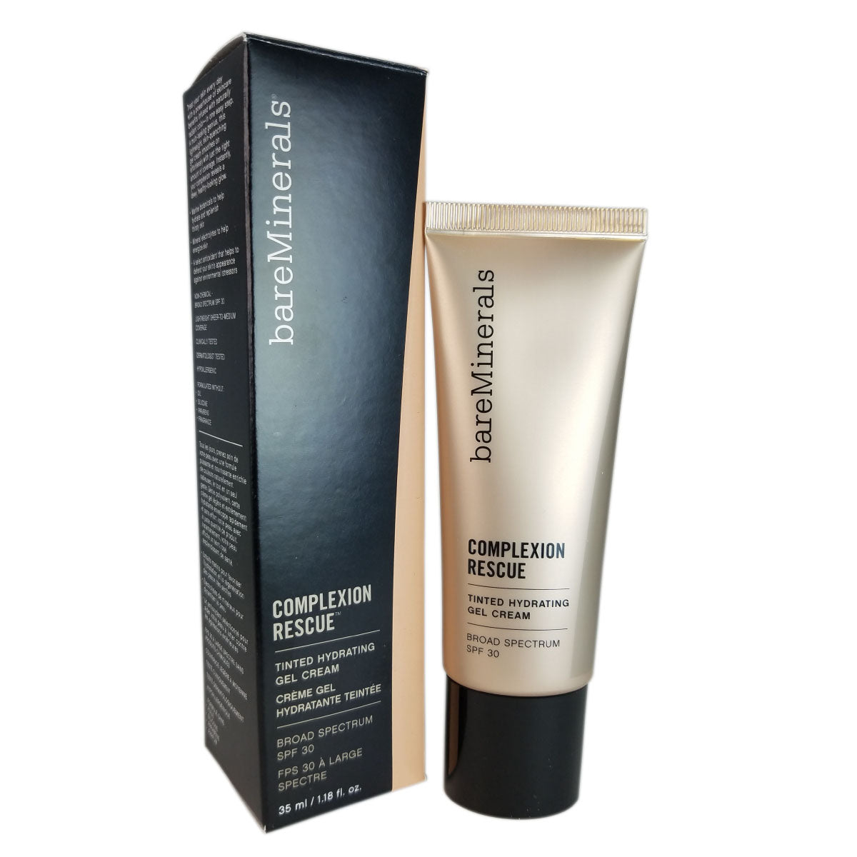 BareMinerals Complexion Rescue Tinted Hydrating Gel Cream - Suede 04 - 1.18 oz