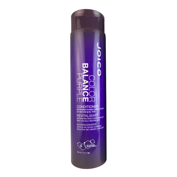 Joico Color Balance Purple Conditioner  Eliminates Brassy/Yellow Tones on Blond/Gray Hair 10.1 oz