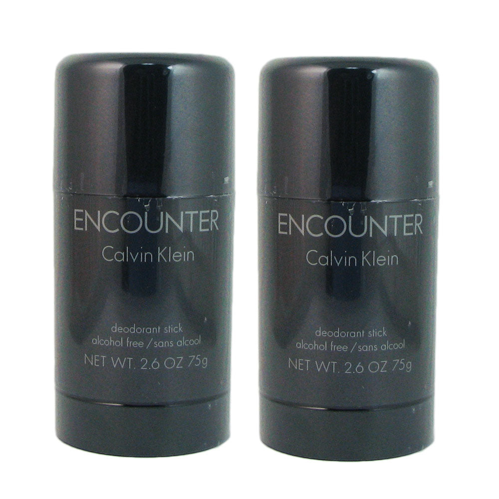 CK Encounter for Men by Calvin Klein 2.6 oz Deodorant Stick (Two)