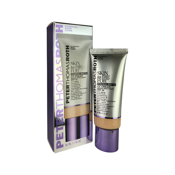 Peter Thomas Roth Light Skin to Die For Complexion Correction & Moisturizer CC Cream SPF 30 Broad Spectrum 1 oz.