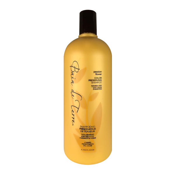 _Bain de Terre Passion Flower Hair Color Preserving Shampoo 33.8 oz Paraben Free