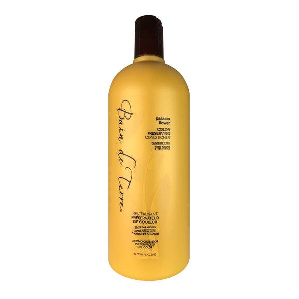 Bain de Terre Passion Flower Hair Color Preserving Conditioner 33.8 oz Paraben Free