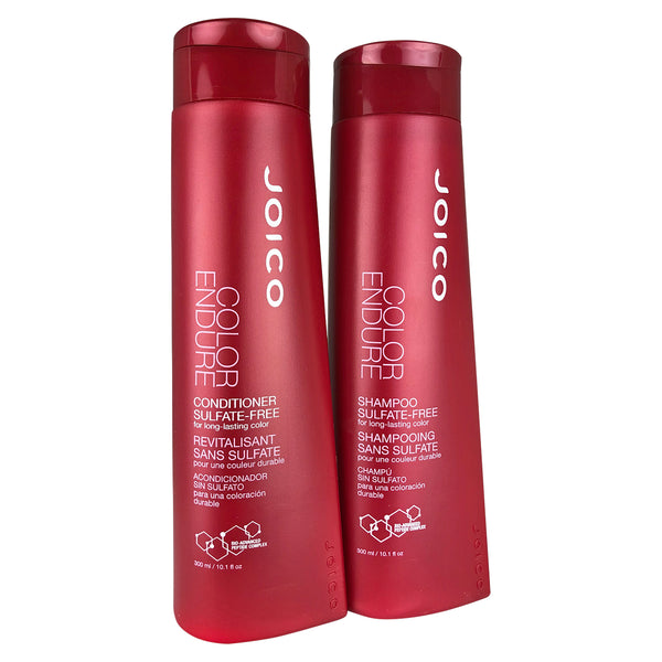 Joico Color Endure Sulfate Free Shampoo & Conditioner Duo 10.1 oz each For Long-Lasting Color