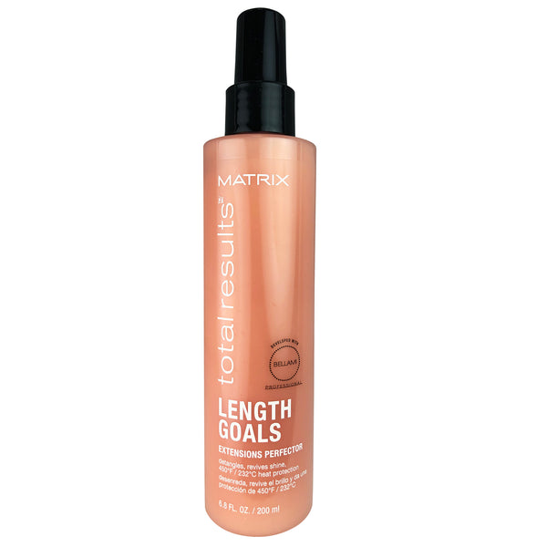 Matrix Total Results Length Goals Hair Extensions Perfector 6.8 oz Detangles and Revives Shine