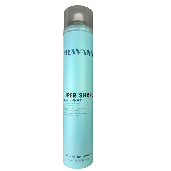 Pravana Súper Shape Hair Spray 100% Vegan ; Gluten Free