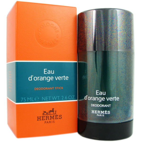 Eau D'Orange Verte for Men by Hermes 2.6 oz Deodorant Stick